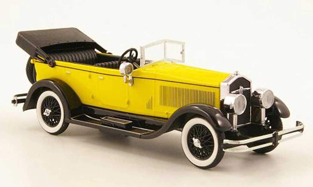 Isotta 8A 1/43 Rio Fraschini Spider jaune/noire 1924 miniature