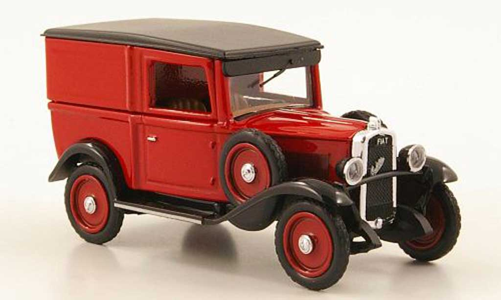 Fiat 508 1/43 Rio Balilla Autocarro rouge/noire 1935 miniature