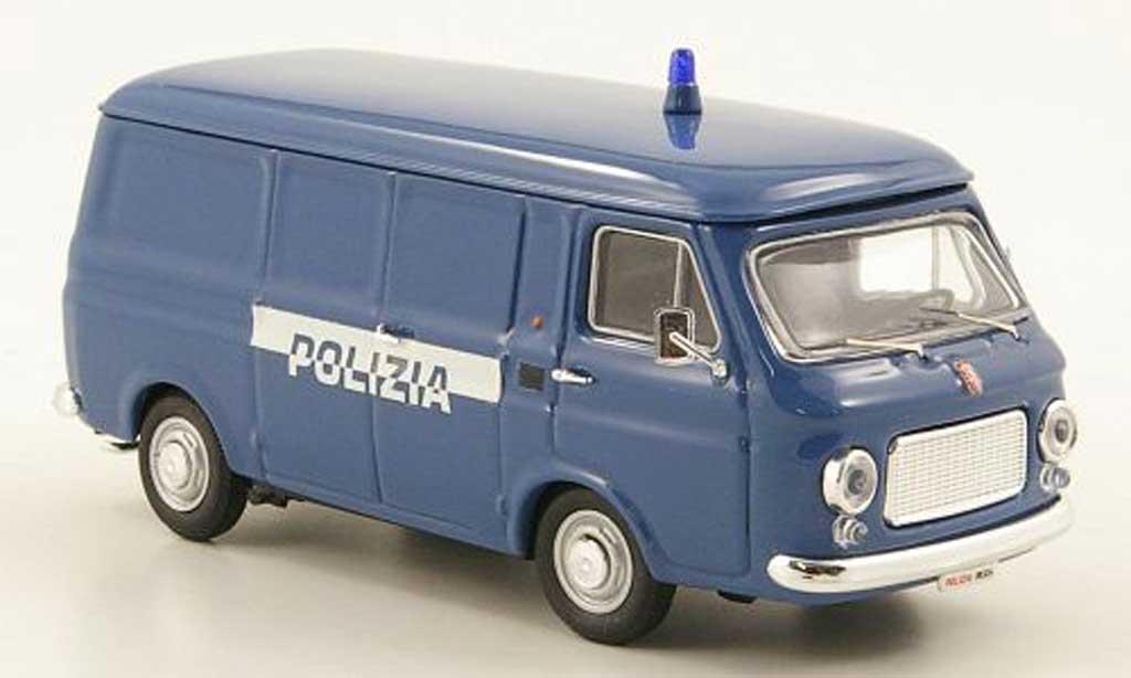Fiat 238 1/43 Rio Kasten Polizia Polizei (IT) 1974 diecast model cars
