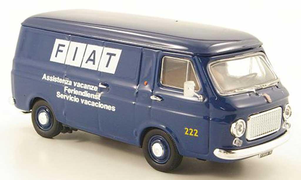 Fiat 238 1/43 Rio Kasten Feriendienst 1970 diecast model cars