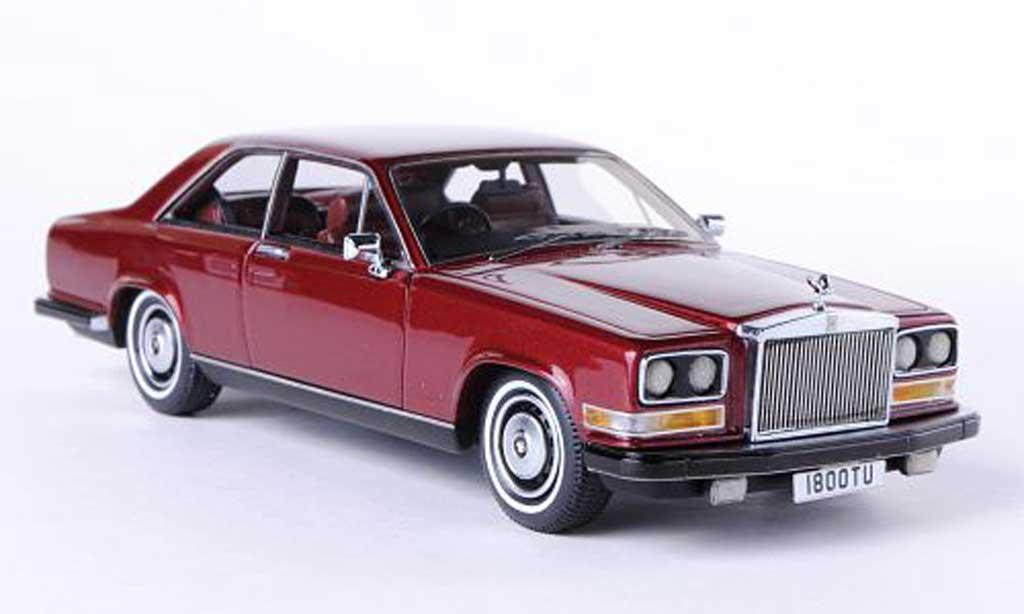 Rolls Royce Camargue 1/43 Neo rouge RHD 1975 miniature