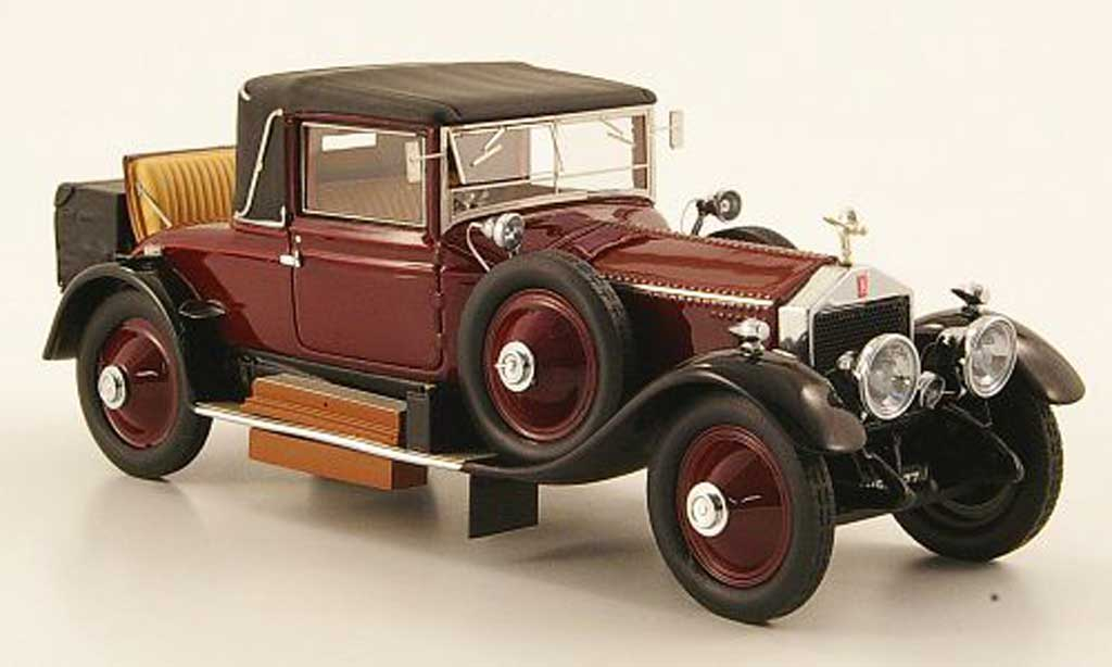 Rolls Royce Silver Ghost 1/43 Neo Doc coupe Dansk 49RE rouge/noire 1920 miniature