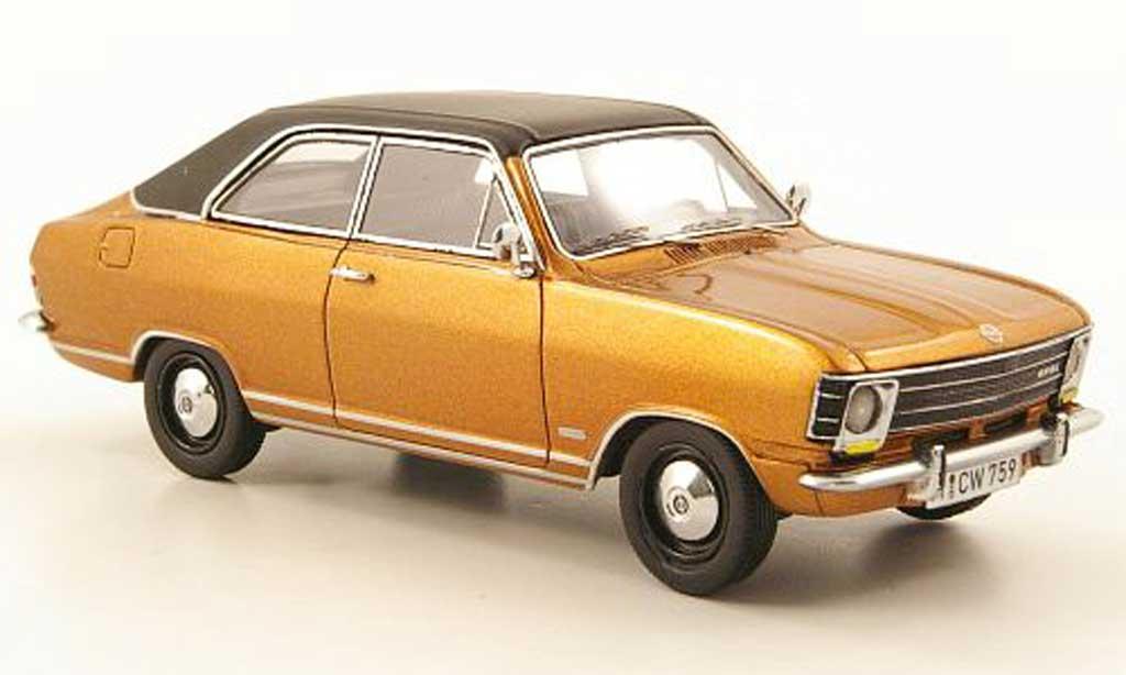 Opel Olympia 1/43 Neo A LS bronze/noire lim. Aufl. 300 1970 miniature
