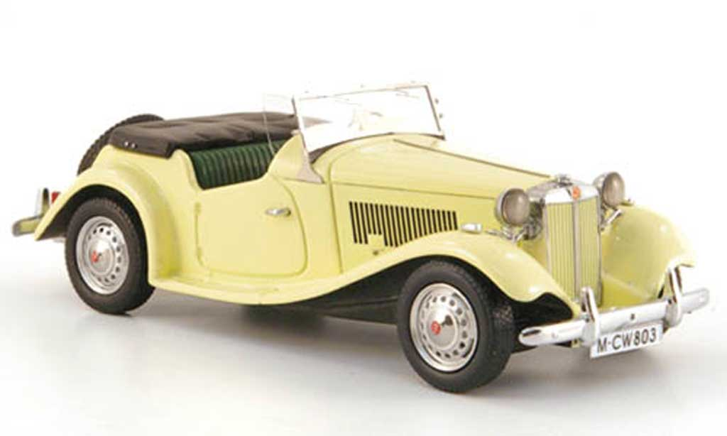 MG TD 1/43 Neo Mark II beige LHD limited edition 1950 miniature