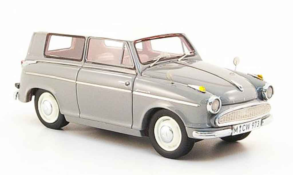 Lloyd Alexander 1/43 Neo Kombi grise blanche 1957 miniature