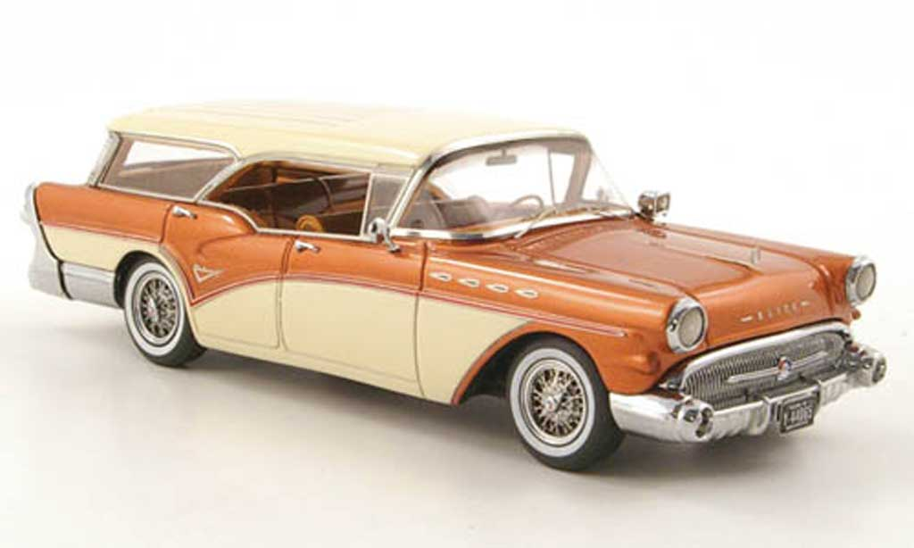 Buick Century 1/43 Neo Caballero biens le cuivre/creme 1957 miniature