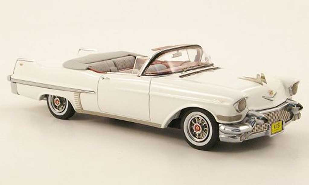 Cadillac Series 62 1957 1/43 Neo Convertible blanche miniature