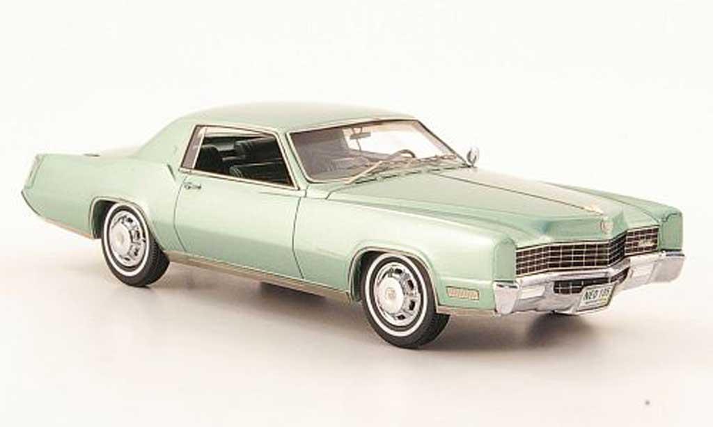 Cadillac Eldorado 1/43 Neo Coupe verte  1967 miniature