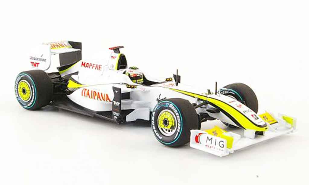 Mercedes F1 1/43 Minichamps Brawn GP BGP001 No.22 J.Button GP Brasilien 2009 miniature