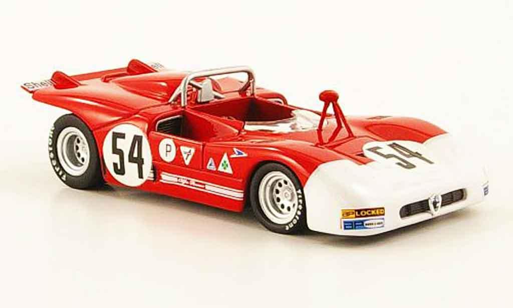 Alfa Romeo 33.3 1971 1/43 M4 no.54 brands hatch miniature