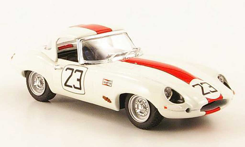 Jaguar E-Type 1963 1/43 Best 1963 Spider No.23 Sebring miniature