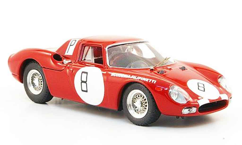 Ferrari 250 LM 1966 1/43 Best no.8 nurburgring miniature