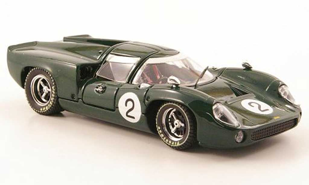 Lola T70 1967 1/43 Best Coupe No.2 Spa miniature