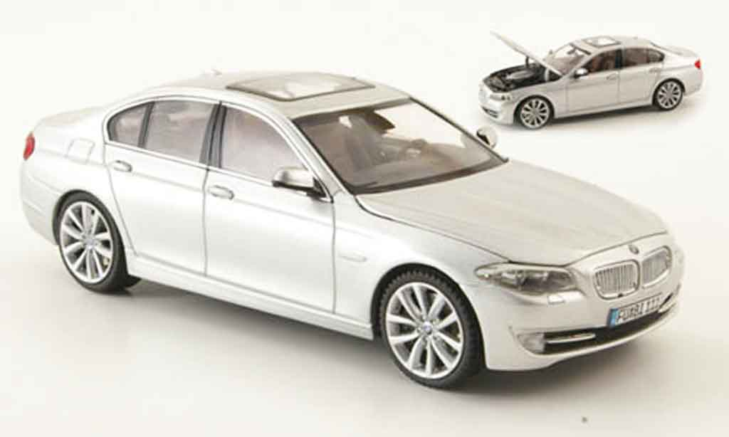 Bmw 523 F10 1/43 Schuco i Limousine grey metallisee 2010 diecast model cars