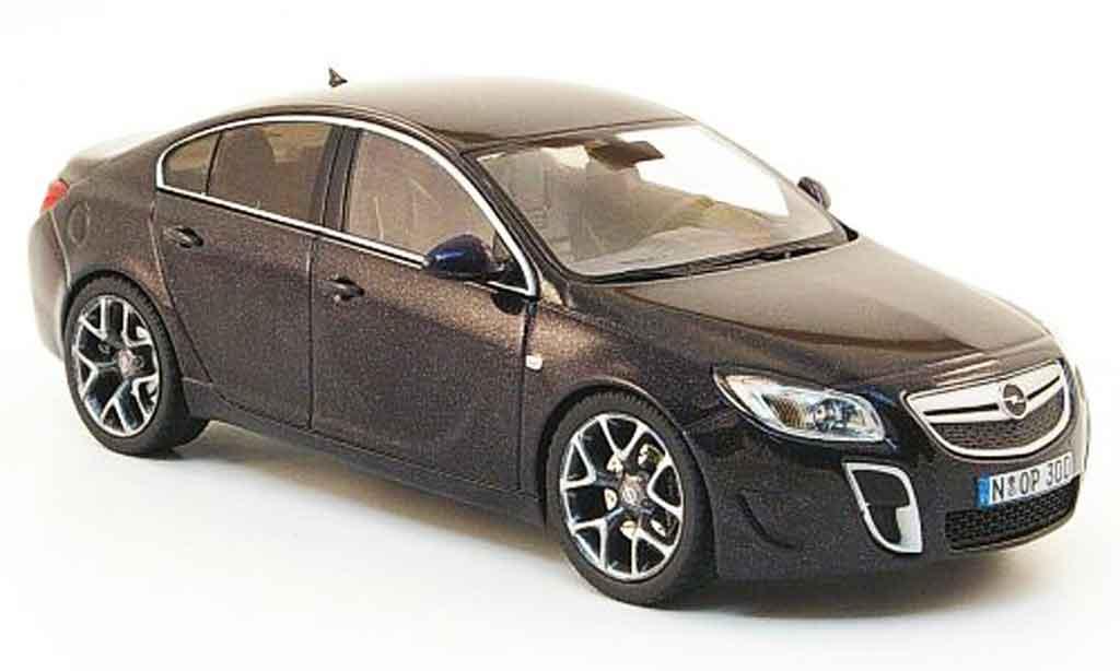 Opel Insignia Opc Black 2009 Schuco Diecast Model Car 1 43