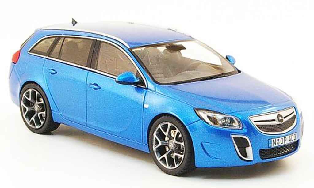 Opel Insignia 1/43 Schuco sports tourer opc bleu 2009 miniature