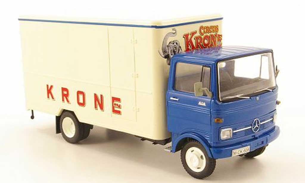 Mercedes LP 608 1/43 Schuco Kasten Circus Krone miniature