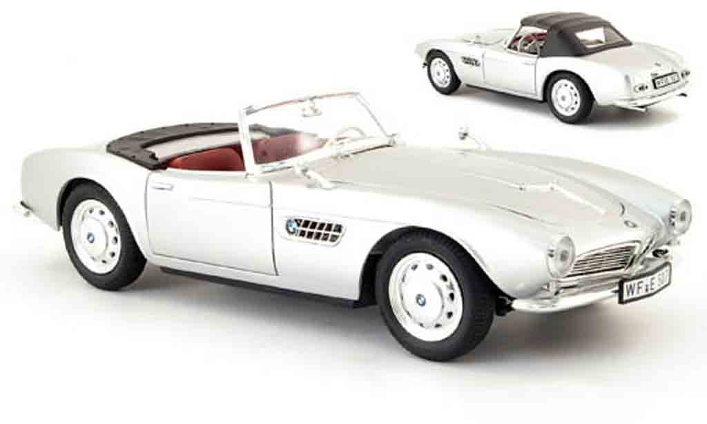 Bmw 507 1/18 Revell grey 1955 diecast model cars