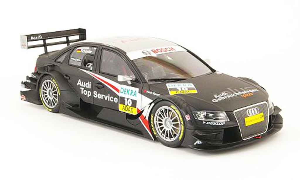 Audi A4 DTM 1/18 Welly no.10, t.scheider, dtm 2008 miniature