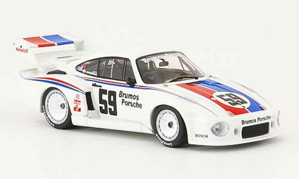 Porsche 935 1979 1/43 Ebbro No.35 Brumos IMSA miniature