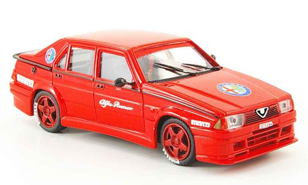 Alfa Romeo 75 Evoluzione 1/43 Pego m.andretti test monza 1987 miniature