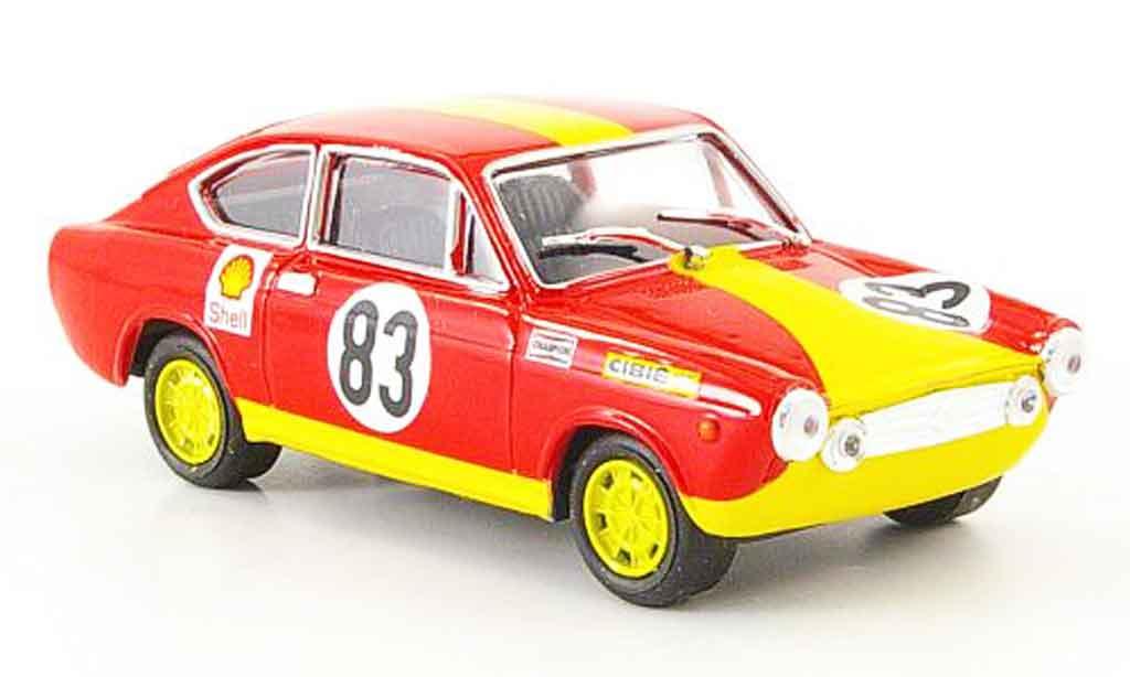 Fiat 130 1/43 Pego Abarth 0S Coupe No.83 Zandvoort 1972 miniature