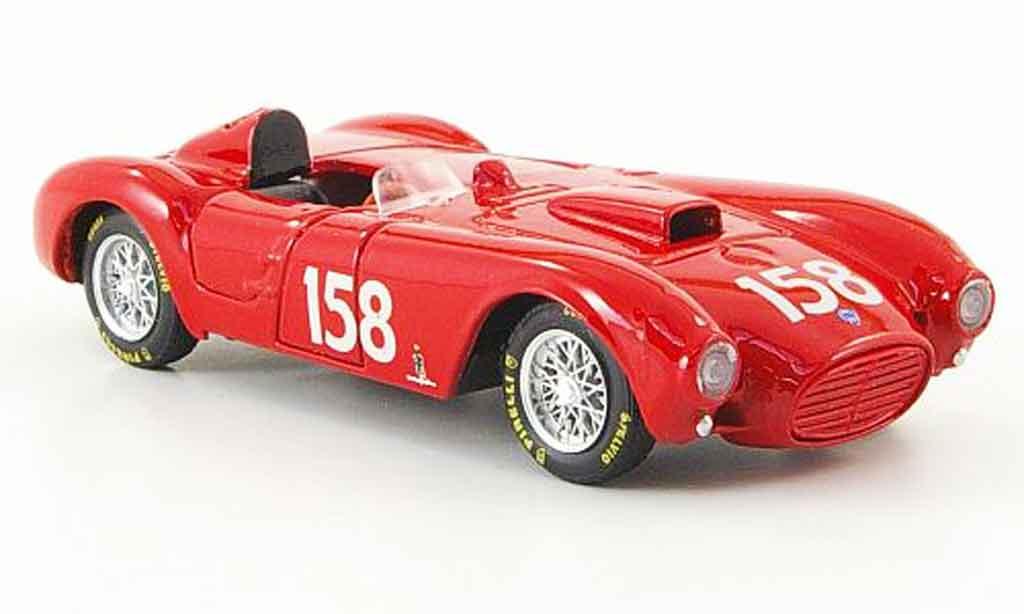 Lancia D24 1/43 Brumm no.158 e.castellotti pontedecimo giovi 1953 miniature