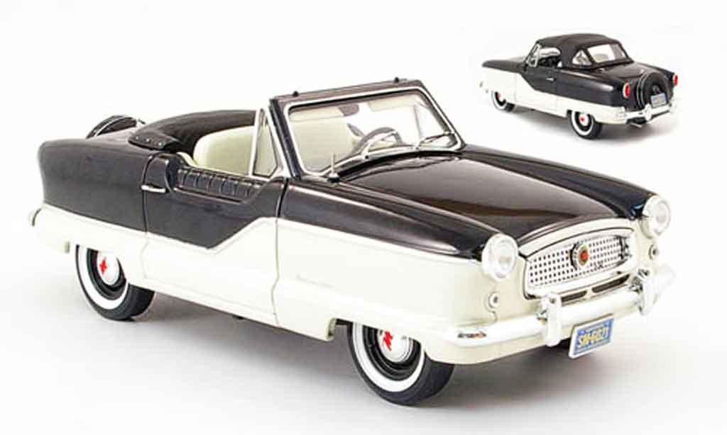 Metropolitan 1500 1/18 Highway 61 convertible noire/blanche 1959 miniature