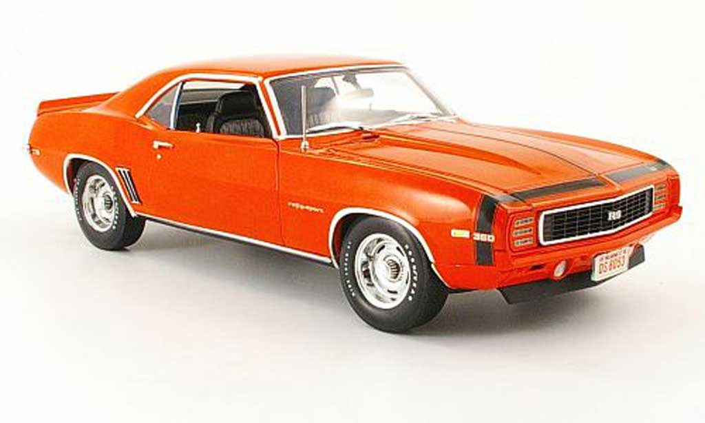Chevrolet Camaro Z28 1/18 Highway 61 rs orange 1969 diecast