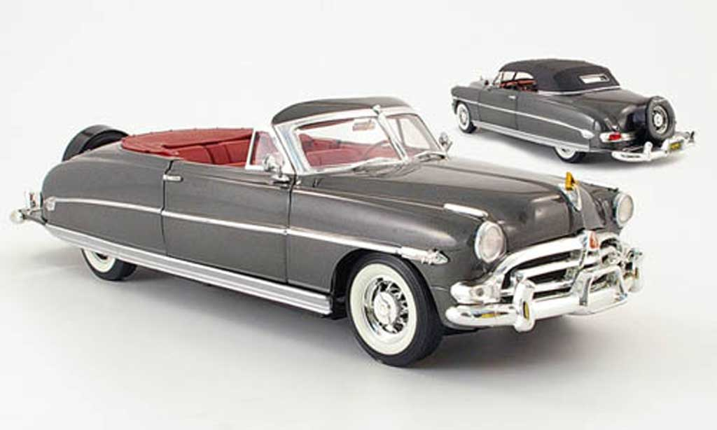 Hudson Hornet 1/18 Fairfield Mint convertible grise 1952 miniature
