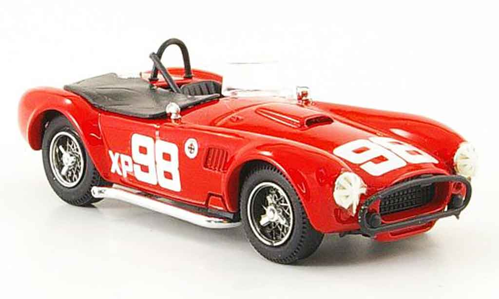Shelby Ac Cobra 1/43 Bang No.98 B.Krause Riverside 1962 miniature