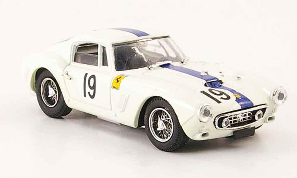 Ferrari 250 GT 1961 1/43 Bang swb no.19 24h le mans miniatura