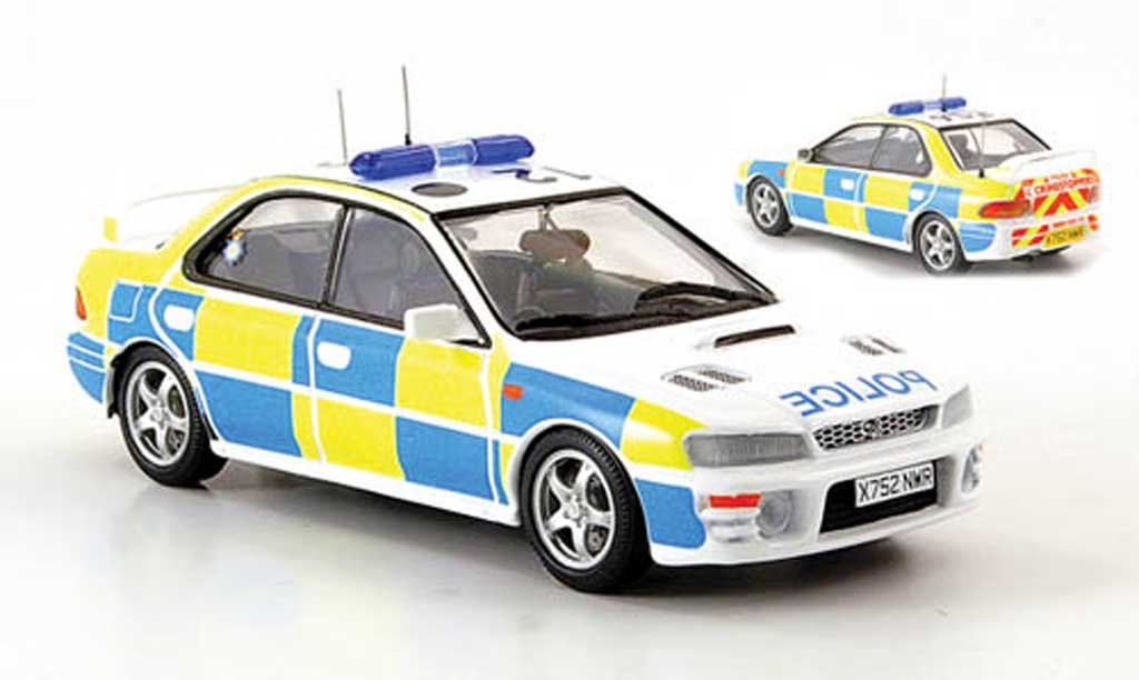 Subaru Impreza WRX 1/43 Trofeu North Yorkshire Police Polizei UK miniature