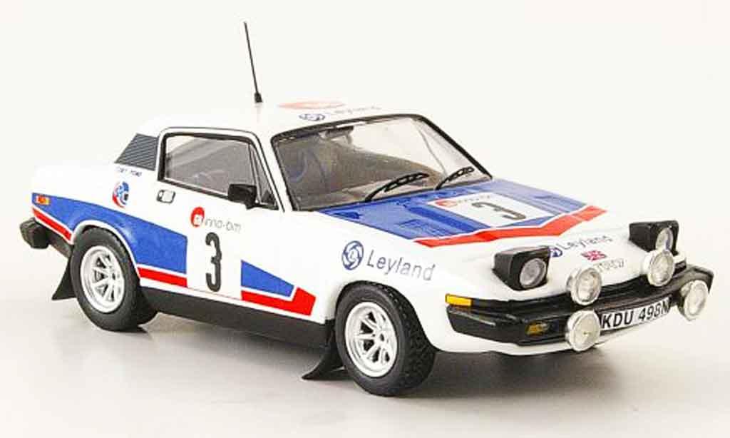 Triumph TR7 1977 1/43 Trofeu No.3 Sieger Boucles de Spa miniature