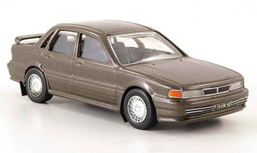 Mitsubishi Galant GTI 1/43 Trofeu 16V grisemarron miniature