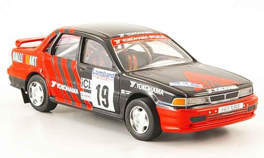 Mitsubishi Galant VR4 1/43 Trofeu No.2 Yokohama R.A.C. 1992 miniature