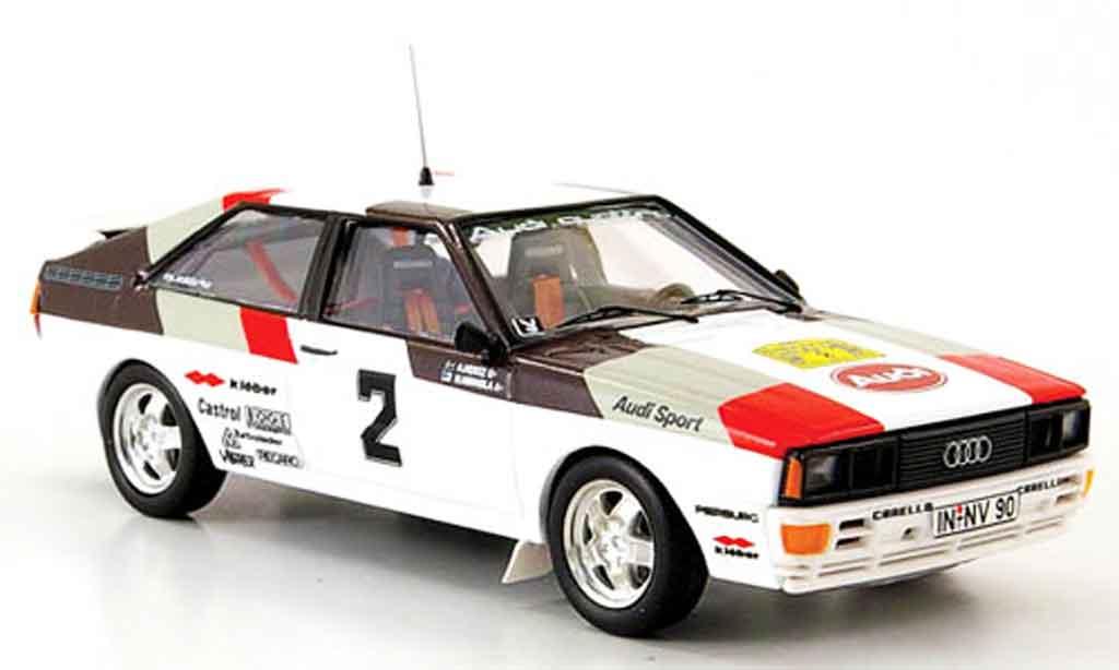 Audi Quattro 1/43 Trofeu No.2 Mikkola Hertz Schweden Rallye 1981