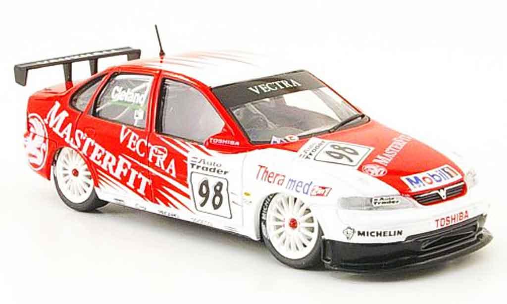 Opel Vectra 1/43 Onyx No.98 Masterfit BTCC 1998 miniature