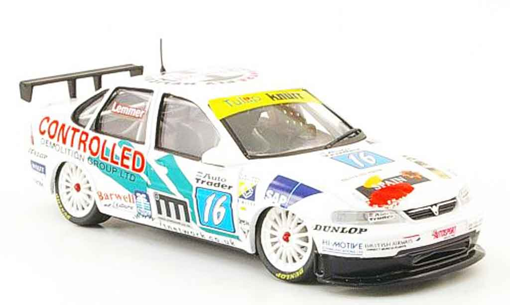 Opel Vectra 1/43 Onyx No.16 Controlled BTCC 1998 miniature