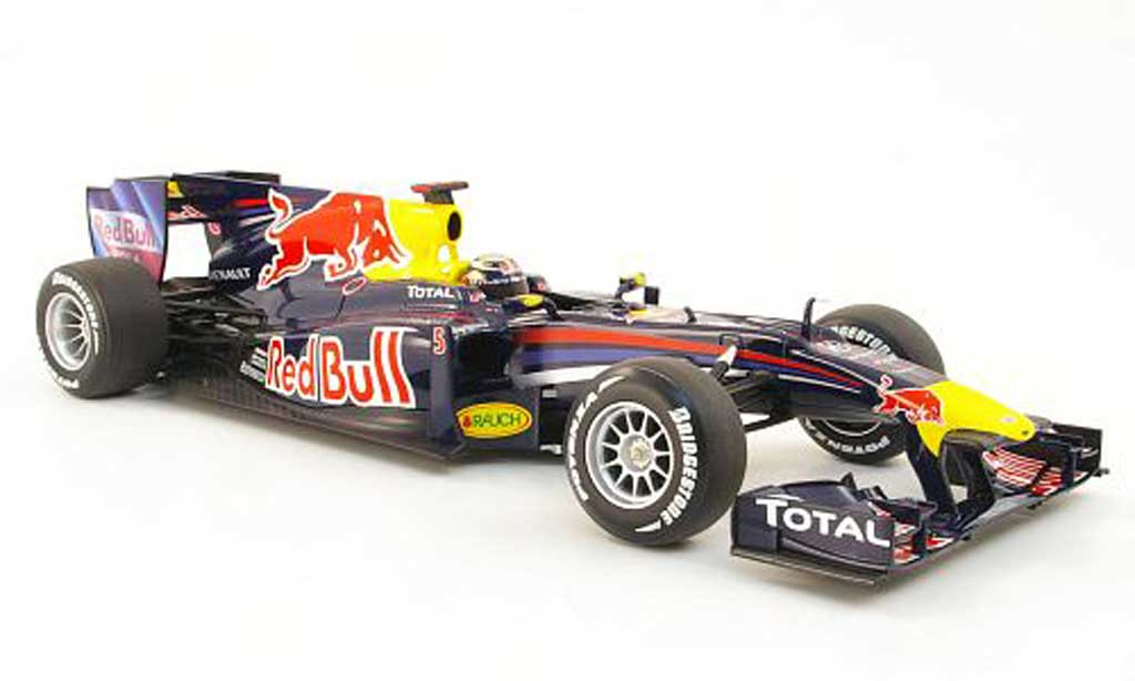 Renault F1 1/18 Minichamps red bull racing rb6 no.5 red bull s.vettel f1 saison 2010 miniature