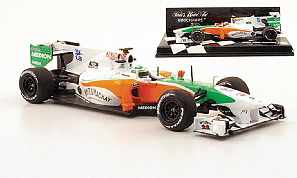 Mercedes F1 2010 1/43 Minichamps Force India VJM03 miniature