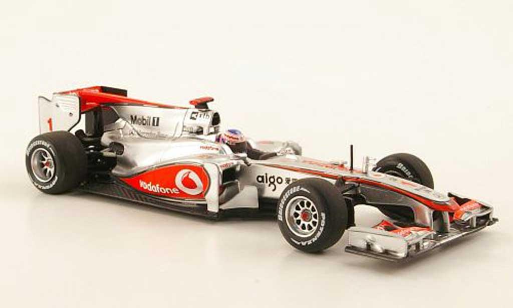 Mercedes F1 2010 1/43 Minichamps McLaren MP4-25 No.1 Vodafone J.Button Saison miniature
