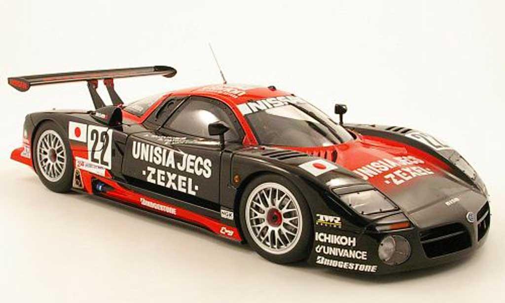Nissan R390 1/18 Autoart gt1 no.22 unisia jecs 24h le mans 1997 r.patrese / e.van de poele / a.suzuki miniature