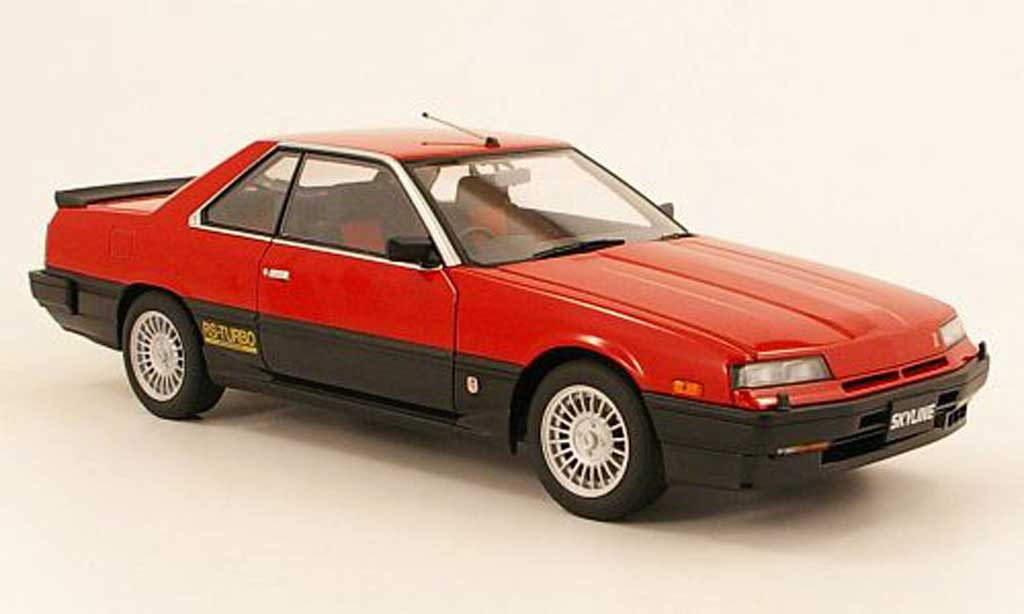 Nissan Skyline RS Turbo 1/18 Autoart r30 hardtop 2000 turbo 1983 (dr30) rouge miniature