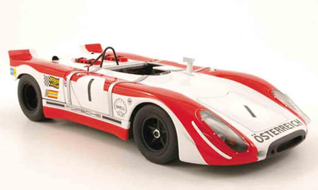 Porsche 908 1969 1/18 Autoart 02 no.1 redman/siffert watkins glen miniature
