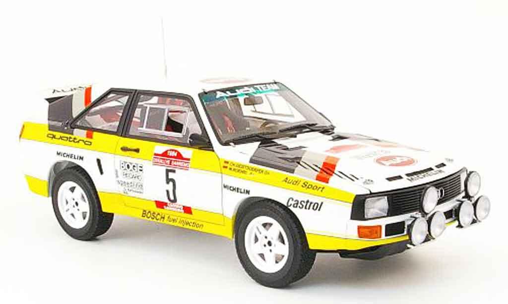 Audi Sport Quattro 1/18 Autoart no.5 rallye san remo 1984 miniature