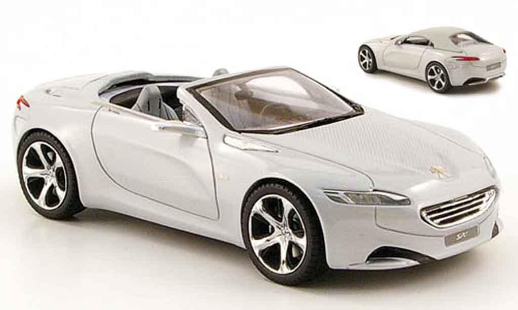 Peugeot SR1 1/43 Provence Moulage grise inklusive hard top concept car genf 2010 miniature