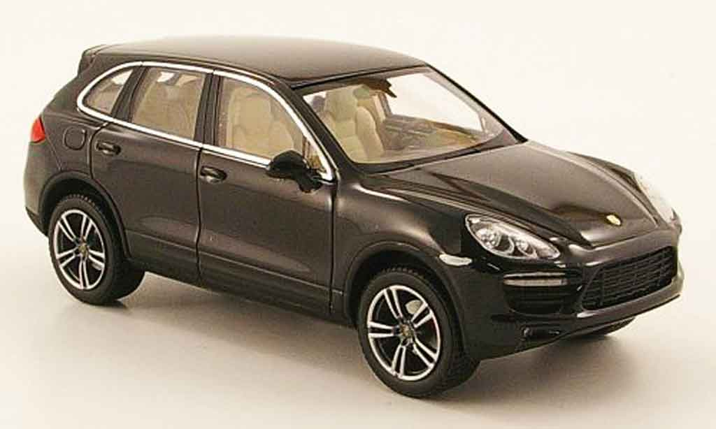 porsche cayenne turbo black 2010 minichamps diecast model. Black Bedroom Furniture Sets. Home Design Ideas