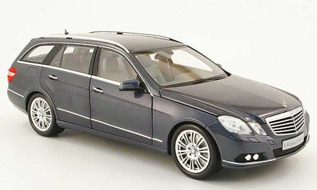 Mercedes Classe E 1/18 Minichamps break (s212) grise 2009 miniature