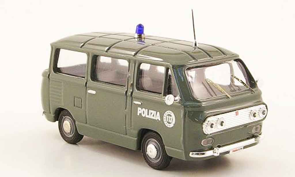 Fiat 850 1/43 Progetto Familiare Polizia 113 police Italien miniature